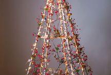 industrial Christmas tree
