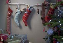 No mantel/fireplace christmas stocking solutions / No mantel/fireplace christmas stocking solutions