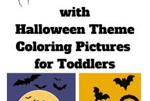 Halloween / Great ideas and fun games for Halloween for those who have small kids