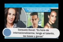 """Consuelo Duval: """"Es hora de internacionalizarme, tengo el talento, las bases y ganas"""""""
