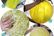 Shade & Lamp DIY / Cool ideas to put to the test