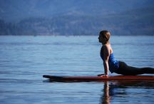 Cedar SUP Yoga / Adding Natural beauty to an already beautiful sport