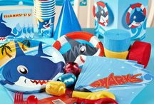 Shark Birthday Party Ideas / Swim at your own risk!