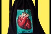 Mochilitos Loteria Mexicana / Handgemachtes... Einfache und leichte Tasche zum über die Schultern hängen.