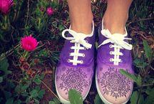 malované boty :)