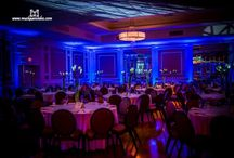 Xtreme Productions Event lighting I Wedding Uplighting / DJs in Massachusetts who work at all types of events.  They provide gorgeous up lighting.  / by Shaadi Bazaar