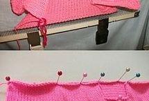 Машинное вязания,