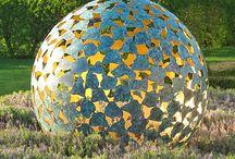 Landscape sculpture/art
