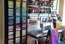 My Sewing Room / We carry a full variety of notions from threads to rulers and everything in between. Find your notions inspiration here. You'll find sewing room inspiration too!