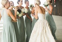 Bryllup grønt tema