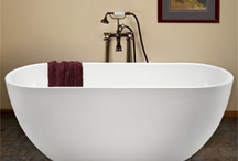 Home Decorating:  THE Master Bathroom / Ideas and inspiration for a new master bathroom. / by Rebecca Aranyi