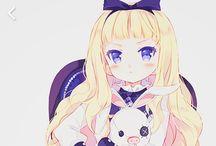 Anime Blonde Hair