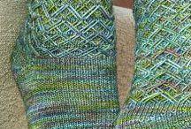 Socks by hand