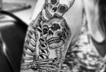 Tatuaggi impressionanti
