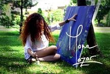 Mona Lazar Art / ecstatic abstract painter – explorer of everyday magic – seeker of light in the shadow – mystical feminine running free monalazar.com