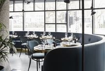 Restaurant interior design / Restaurant interior design ideas we like