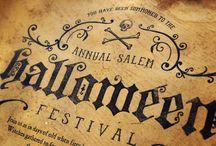 seasonals 5 / halloween / spooky, day of the dead, horror, bones halloween / by nick | huffo design