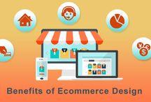 Ecommerce Website design or Development & Benefits