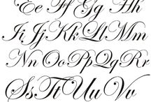 Galligraphy / The old handwriting is so beatiful!
