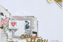 Wedding Scrapbook ideas / Scrappin' our favorite day one page at a time...