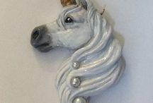 unicorn en paarden