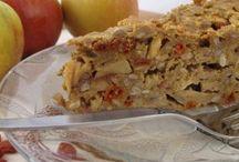 Gebak en cake met appel / Gebak en cake met appel