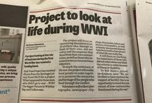 WW1 The Bigger Picture and impact on local communities of men who failed to enlist. / This project is about uncovering evidence relating to those men who failed to enlist or returned from war with a 'Hidden Disability' and the response by women.