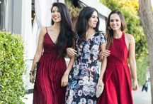 Party Dresses for Petite Fashion Bloggers / If you are petite and looking for some party dress ideas for your important event, this is the place to get some inspiration.