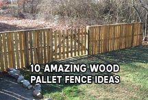 pallet fencing