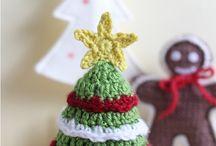 vianoce háčkované