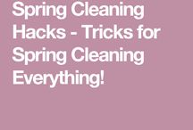 Home Cleaning tricks