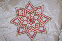 Greenland pearl embroidery