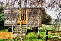 The Shepherd's Hut / Stay the night in our secluded shepherd's hut - perfect for the wedding night or an anniversary