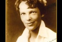 Amelia Earhart / by Leanna Hecker-Panian