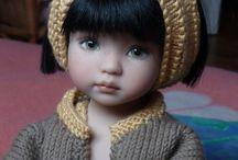 Oyuncak bebek örgü elbise modelleri