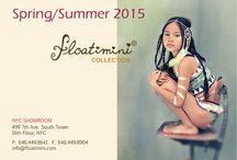 FLOATIMINI S/S 2015 / Children's swim collection 2015. Photography work by Gerald Harten.