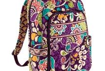 Vera Bradley backpacks / Awesome so cute / by Emma Oelkers