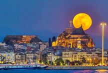 Corfu.Greece / Corfu island. With magnificent palaces, fortresses, romantic alleys, arcades, beautiful beaches and unique gastronomy. For your bookings, check here: https://e-globaltravel.com/corfu/