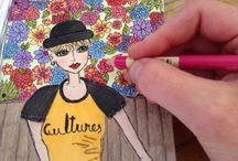 Krista Illustrates / Illustration, Sketching, Drawing / by Krista Irene