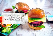 Restaurant Week / Discover the diverse dining scene and energetic vibe in Downtown Delray this August 1 - 7,2016 for the first ever Dine Out Downtown Delray Restaurant Week.  Enjoy prix fixe lunches and dinners along with special Dine Out deals and a series of creative culinary events & classes throughout the week at participating Downtown restaurants. / by Delray Beach DDA
