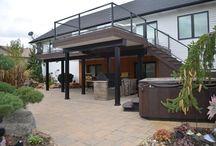decks and outdoor