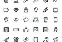 Vector- Icons / by Adriana Galbani Angeles