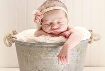 Newborn Photo Ideas / by Kailee Pierce