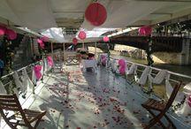 Bateaux mariage / Retrouvez tous les bâteaux et péniches référencés sur WED and CO si vous souhaitez vous marier sur l'eau !