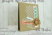 Stampin' Up! Embossing Paste
