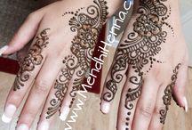 henna prints