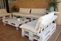 Pallet lounge ideeen