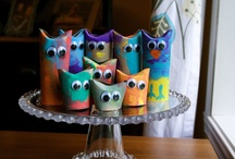 Toilet rolls - Get crafty and recycling! / Different kreative ideas how to craft with toalett rolls.