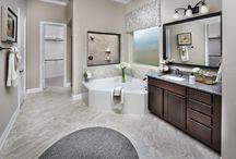 Lennar Houston Master Bathroom / Gorgeous bathroom designs by Lennar Houston