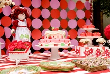 Vintage Strawberry Party